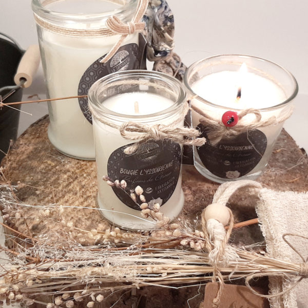 Bougie artisanale yssoirienne - La saponniere